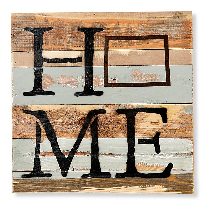 Alternate image 1 for Sweet Bird & Co. Wyoming Home State Reclaimed Wood Wall Art