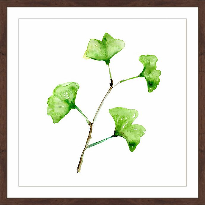 Alternate image 1 for Marmont Hill Ginkgo 24-Inch Square Framed Wall Art