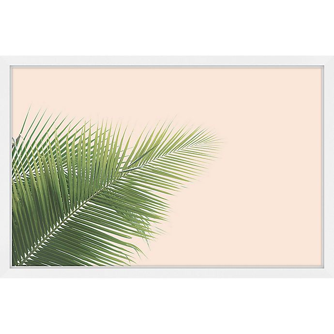 Alternate image 1 for Marmont Hill Whispy Leaves 12-Inch x 18-Inch Framed Wall Art