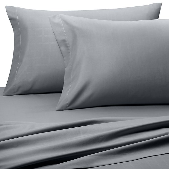 Embossed Microfiber California King Sheet Set   Bed Bath & Beyond