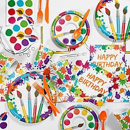 Creative Converting™ 81-Piece Art  Birthday Party Tableware Kit