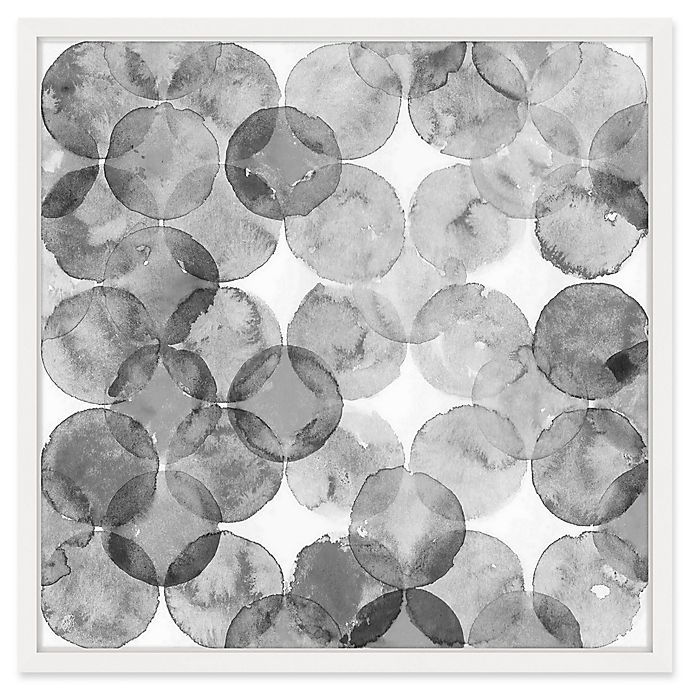Alternate image 1 for Marmont Hill Bubble Dimension 12-Inch x 12-Inch Framed Print Wall Art