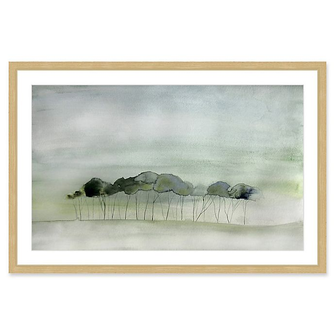 Alternate image 1 for Marmont Hill Quiet 24-Inch x 16-Inch Framed Wall Art