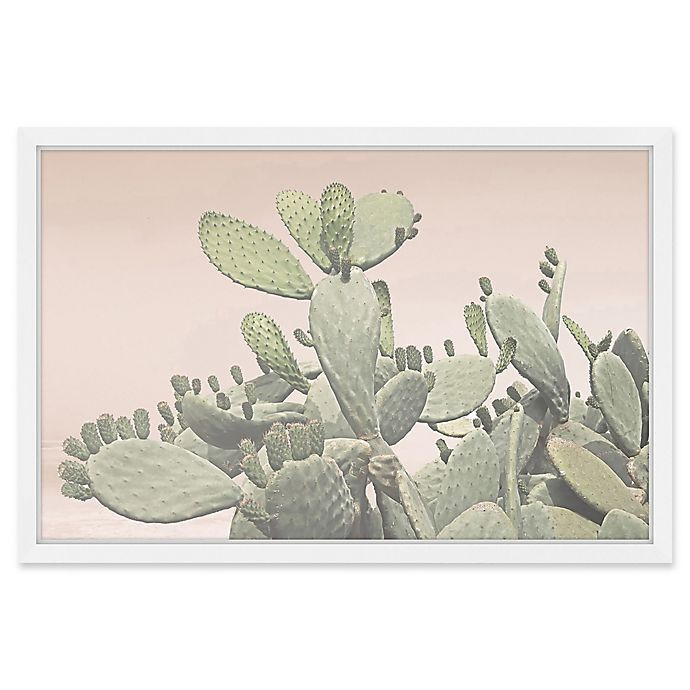 marmont hill cactus bunch 60 inch x 40 inch framed wall art bed bath beyond. Black Bedroom Furniture Sets. Home Design Ideas