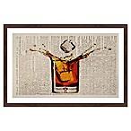 Marmont Hill Liquor Splash 20-Inch x 30-Inch Framed Wall Art