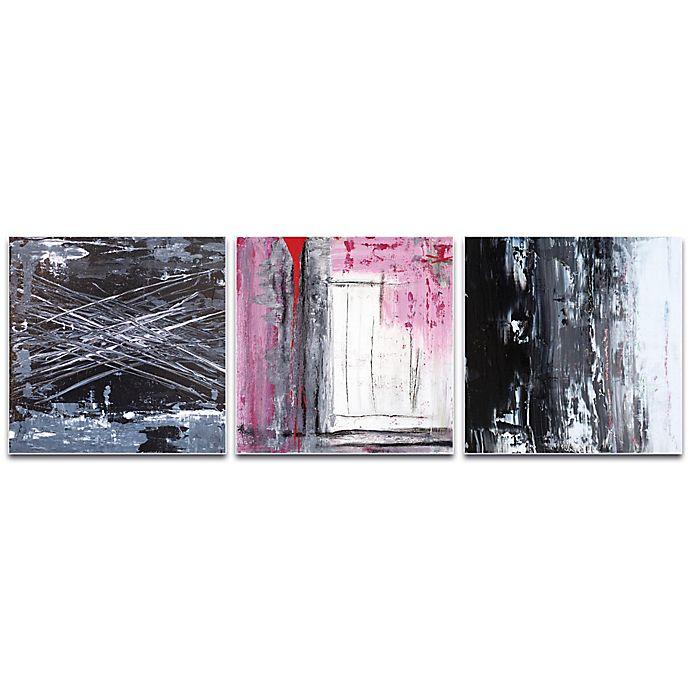 Metal Art Studio Urban Triptych 6 Abstract 3 Piece 70 Inch X