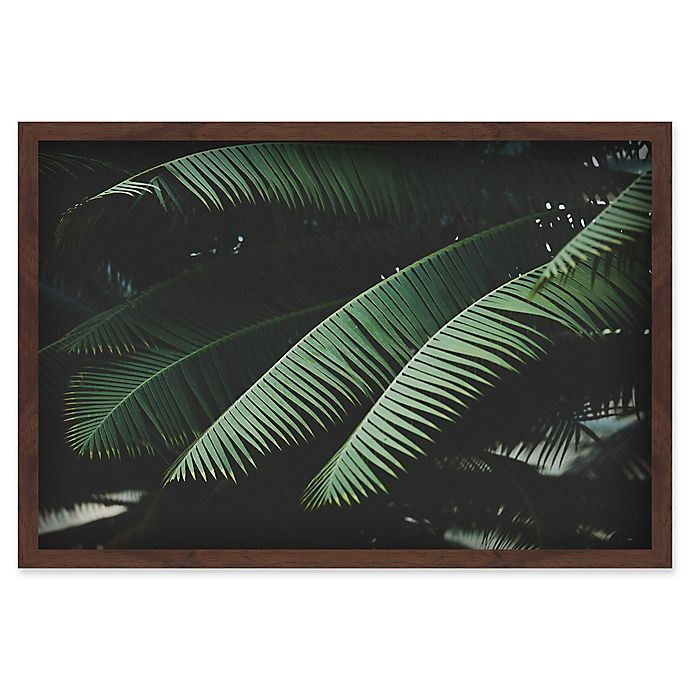 Alternate image 1 for Marmont Hill Night in the Tropics 16-Inch x 24-Inch Shadow Box Wall Art