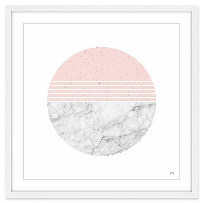 Alternate image 1 for Marmont Hill Ions Effect 18-Inch Square Framed Wall Art