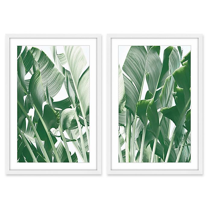 Alternate image 1 for Marmont Hill Galveston 20-Inch x 30-Inch Framed Wall Art (Set of 2)