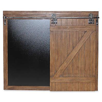 Splash Large Sliding Chalkboard Barn Door