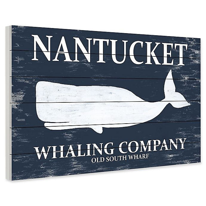 Alternate image 1 for Marmont Hill Whaling Company II 60-Inch x 40-Inch Wall Art