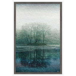 Marmont Hill Apple Lake Framed Wall Art