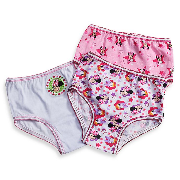 Alternate image 1 for Disney® Minnie Mouse 3-Pack Toddler Panties