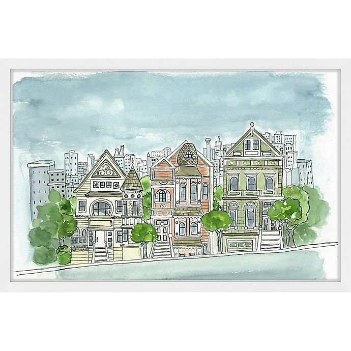 Alternate image 1 for Marmont Hill Potrero Hill San Francisco 24-Inch x 16-Inch Framed Wall Art