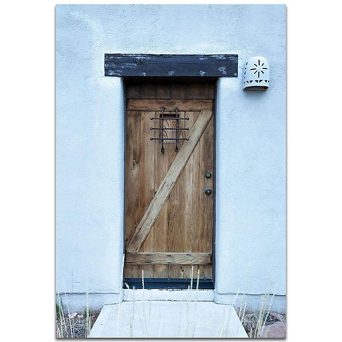 Alternate image 1 for Metal Art Studio Olde Door 22-Inch x 32-Inch Plexiglass Wall Art