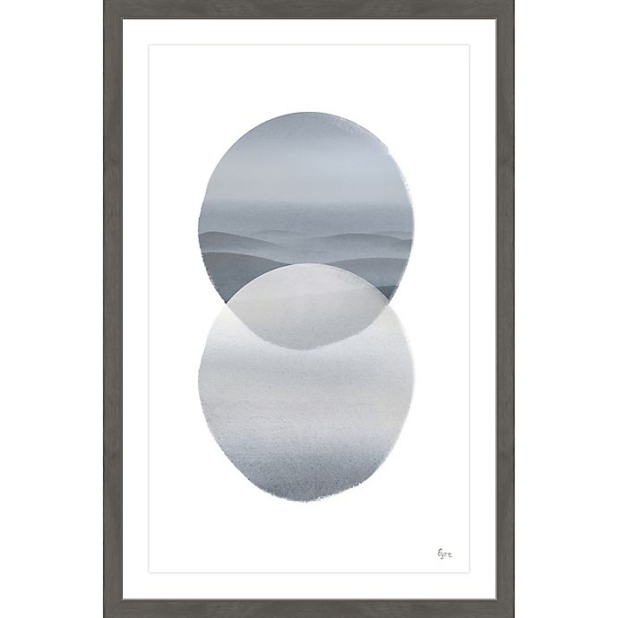 Alternate image 1 for Marmont Hill Spheres Merging 20-Inch x 30-Inch Framed Wall Art