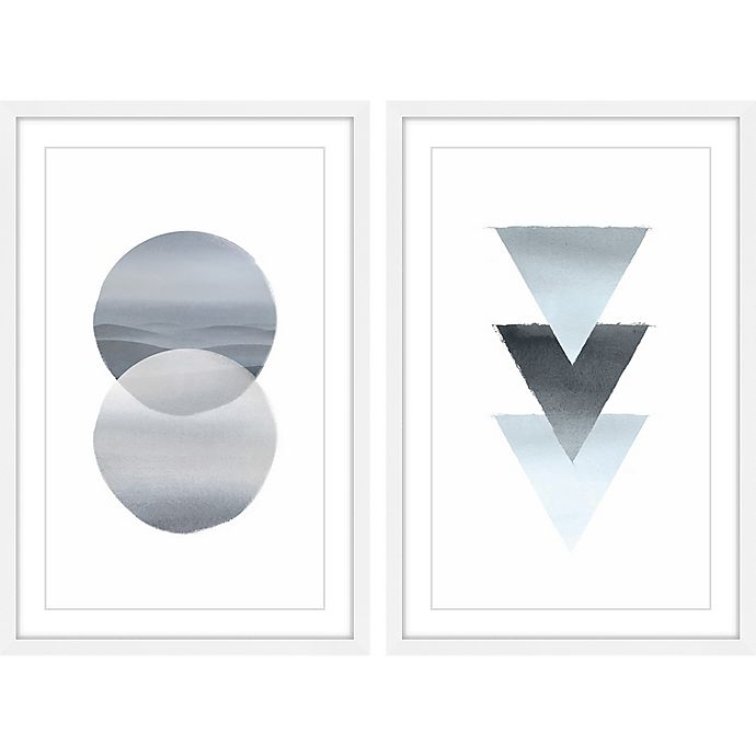 Alternate image 1 for Marmont Hill Upside Down Diptych 24-Inch x 36-Inch Wall Art (Set of 2)
