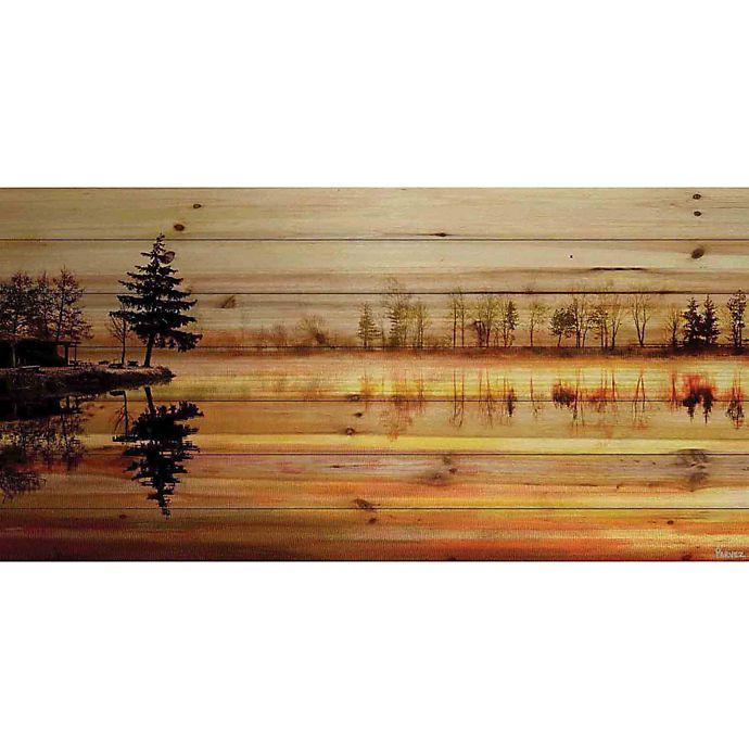 Alternate image 1 for Parvez Taj Chanannes 60-Inch x 30-Inch Pinewood Wall Art