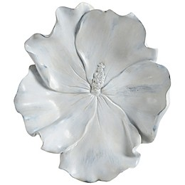 Ren-Wil Impatiens Wall Statue in Rustic White