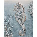 Glitter Seahorse  Canvas Wall Art