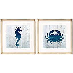 Blue Sea Creatures