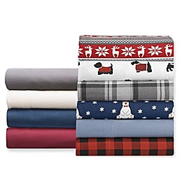Winter Nights Flannel Sheet Set