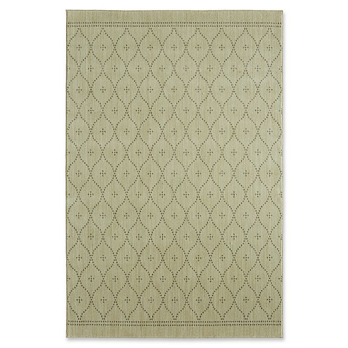 Alternate image 1 for Under the Canopy by Mohawk Home Palais 8-Foot x 10-Foot Area Rug in Beige