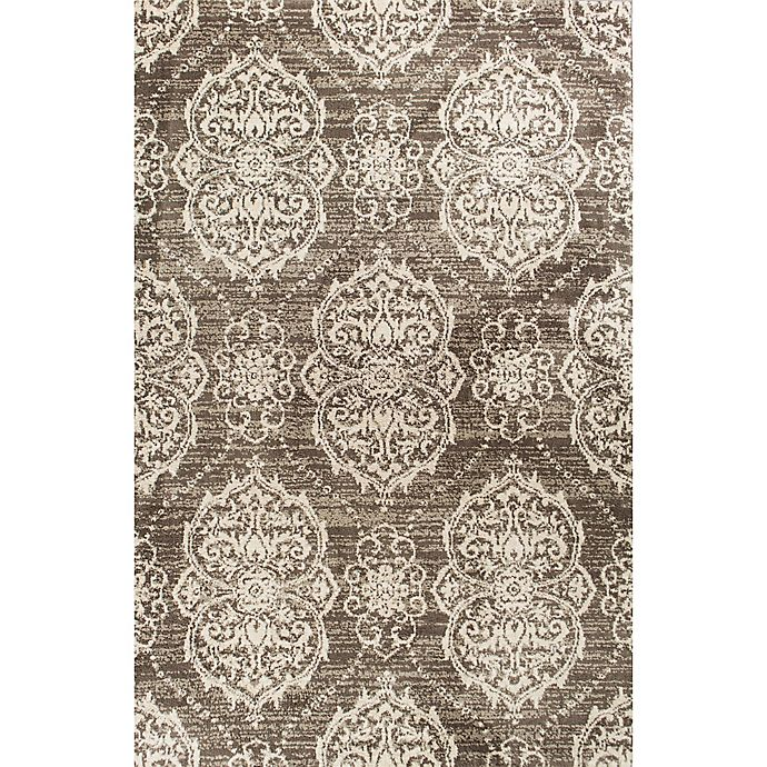 Alternate image 1 for KAS Madison Sutton 5' x 7'6 Area Rug in Taupe/Ivory