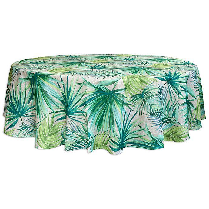 Buy destination summer palm garden 70 inch round indoor - Bed bath and beyond palm beach gardens ...