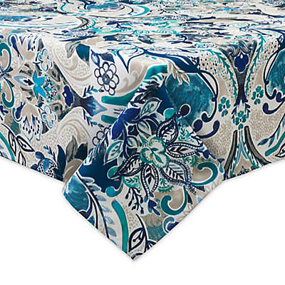 Bardwil Linens Tasha Indoor/Outdoor Tablecloth