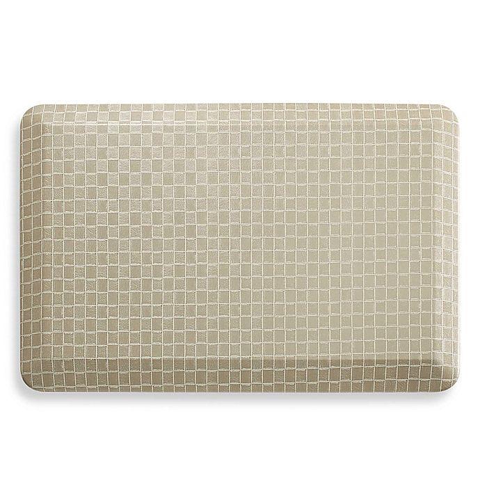 Therapedic 20 Inch X 32 Inch Kitchen Mat In Taupe Bed Bath Beyond
