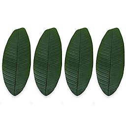 Design Imports Banana Leaf Napkin Rings (Set of 4)
