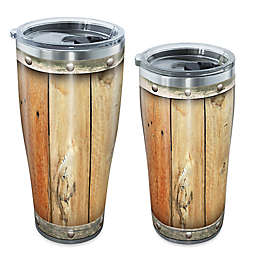 Tervis® Wood Barrel Stainless Steel Tumbler with Lid