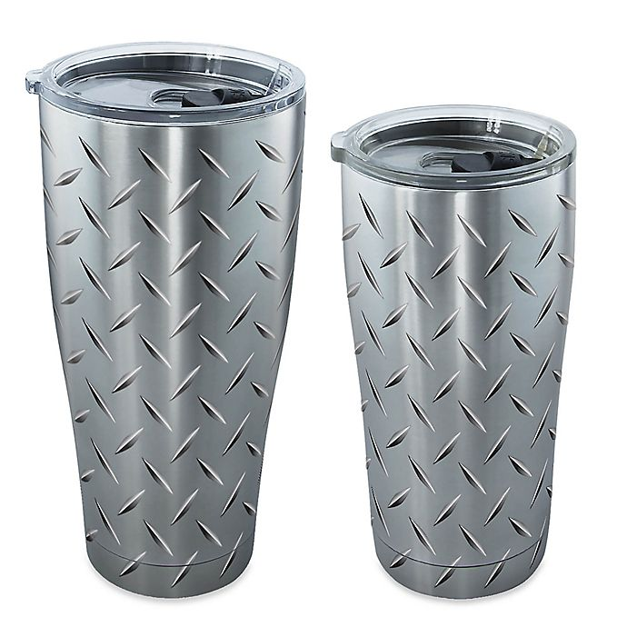 7d47e3da41c Tervis® Diamond Plate Stainless Steel Tumbler with Lid | Bed Bath ...