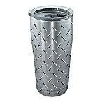 Tervis® Diamond Plate 20 oz. Stainless Steel Tumbler with Lid
