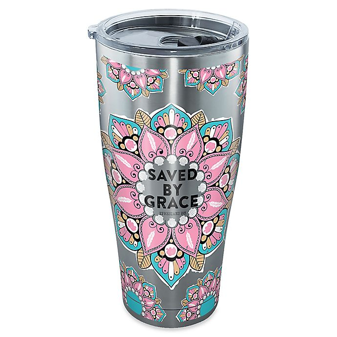 Alternate image 1 for Tervis® Faithful Saved Grace 30 oz. Stainless Steel Tumbler with Lid