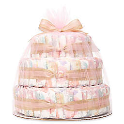 Honest® Diaper Cakes Collection in Rose Blossom Pattern