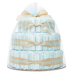 Honest® Diaper Cakes Collection in Teal Tribal Pattern
