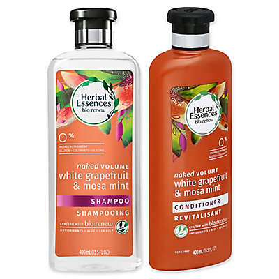 Clairiol® Herbal Essences Naked Volume White Grapefruit and Mosa Mint Hair Care Collection