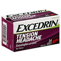 Excedrin® 24-Count Aspirin-Free Tension Headache Pain Reliever Caplets