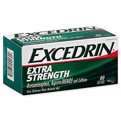 Excedrin® Extra Strength 80-Count Geltabs