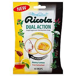 Ricola® 19-Count Dual Action Honey-Lemon Cough Drops