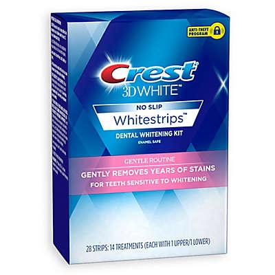 Crest® 3D White™ No Slip Whitestrips™ 14-Count Gentle Routine Whitening Kit