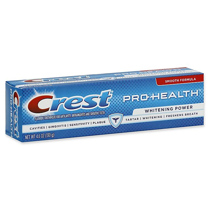 Alternate image 1 for Crest® Pro-Health 4.6 oz. Whitening Power Smooth Formula Fluoride Toothpaste