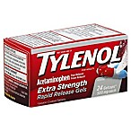 Tylenol® Extra Strength 24-Count 500 mg Pain Reliever Fever Reducer Rapid Release GelCaps