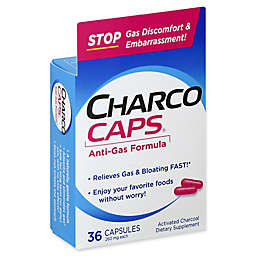 CharcoCaps® 36-Count 260 mg Anti-Gas Formula Capsules