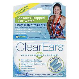 ClearEars® 5-Pair Water Absorbing Ear Plugs