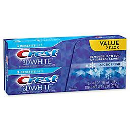Crest® 3D White® 2-Pack 5.5 oz. Whitening Toothpaste in Artic Fresh