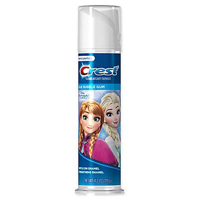Crest® Kid's 4.2 oz. Disney Frozen Bubble Gum Flavor Fluoride Anticavity Toothpaste