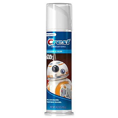 Crest® Kid's 4.2 oz. Star Wars™ Bubble Gum Flavor Fluoride Anticavity Toothpaste